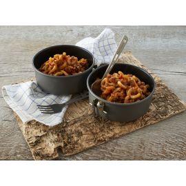 Gullash med pasta og oksekød
