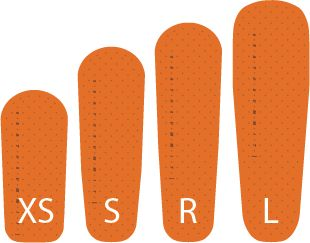 Ultralight Insulated Mat Large Orange Inf Wear