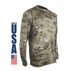 XGO - Performance LS Crew, Phase 1 - MultiCam®, Small
