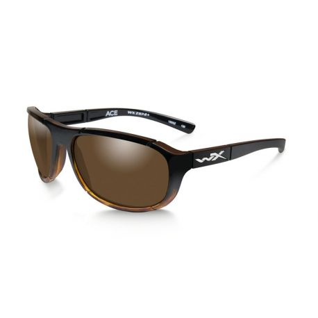 ACE Polarized Bronze Gloss Tortoise Fade Frame