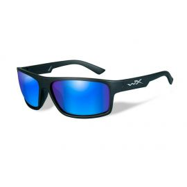 Wiley X - PEAK Polarized Blue Mirror Matte Black Frame