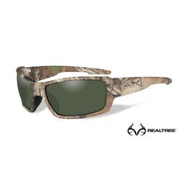 Wiley X - REBEL Polarized Green Realtree Xtra® Camo Frame