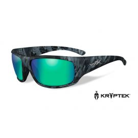 Wiley X - OMEGA Polarized Emerald Mirror Kryptek® Neptune™ Frame