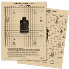 All-Weather - 25 Meter Zeroing Target, Vandafvisende