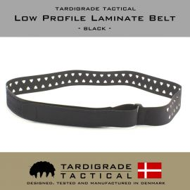 Tardigrade Tactical – Low Profile Laminate Belt, Sort