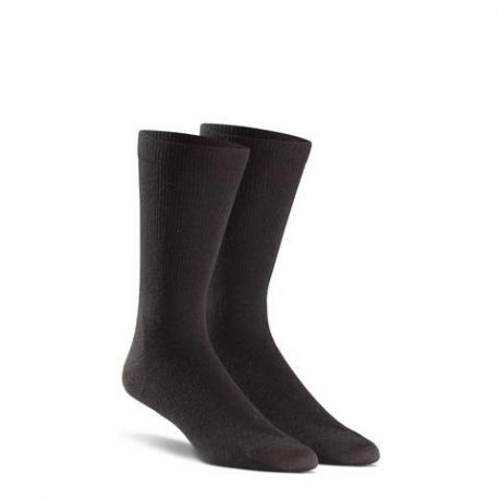 FoxRiver - Dress Liner sok, Sort, 2 par