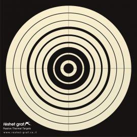 Reshet Graf - Thermal Target, Bulls Eye (48x48cm)
