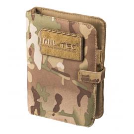 MIL-TEC - Notebook (lille) med ringbind og papir, Multicamouflage