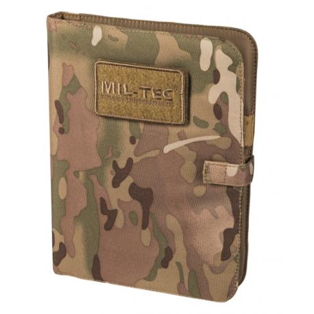 MIL-TEC - Notebook med A5 ringbind og papir, Multicamouflage