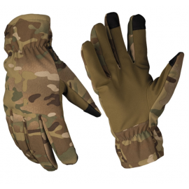 MIL-TEC - Softshell Thinsulate™ Vinterhandske, Multicamouflage (MTS)
