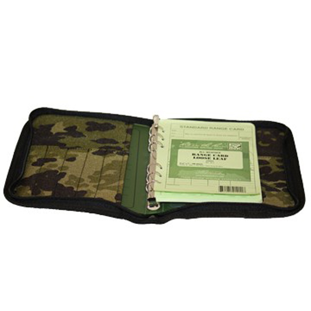 Tactical Field Binder With Paper And M/84 Cover