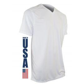XGO - Performance SS V-Neck T-shirt, Hvid