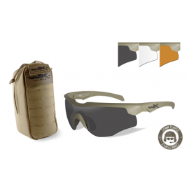 Willey X - ROGUE COMM + TACTICAL EYEWEAR POUCH Combo Deal (LR)