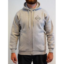 Major League Viking - Hoodie with Zip, Light Gray