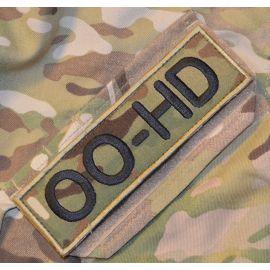 OO-HD ærmemærke, MultiCam på velcro