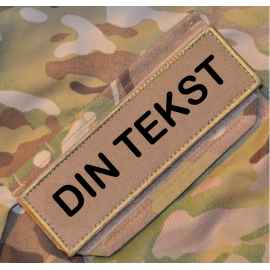 """4 STK """"Own design"""" Patch on Velcro"""