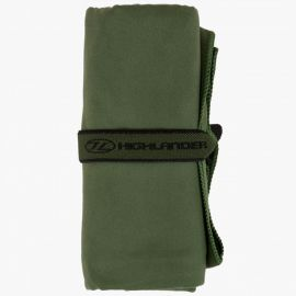 Highlander - Microfiber Felthåndklæde Oliven, Small