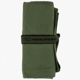 Highlander - Microfiber Felthåndklæde Oliven, Large