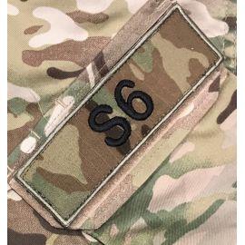 S6 ærmemærke, MultiCam på velcro