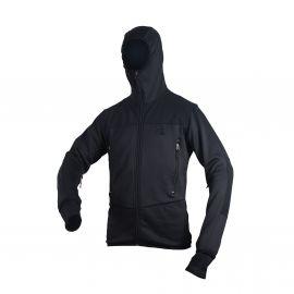 MLV - Tactical Tight Fleece (TTF), med hætte, sort