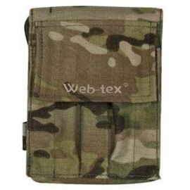 Web-tex - Cover for Notebook A6, Multicam