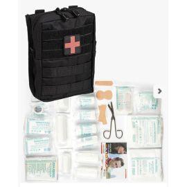MIL-TEC - Førstehjælpstaske, Stor, Sort